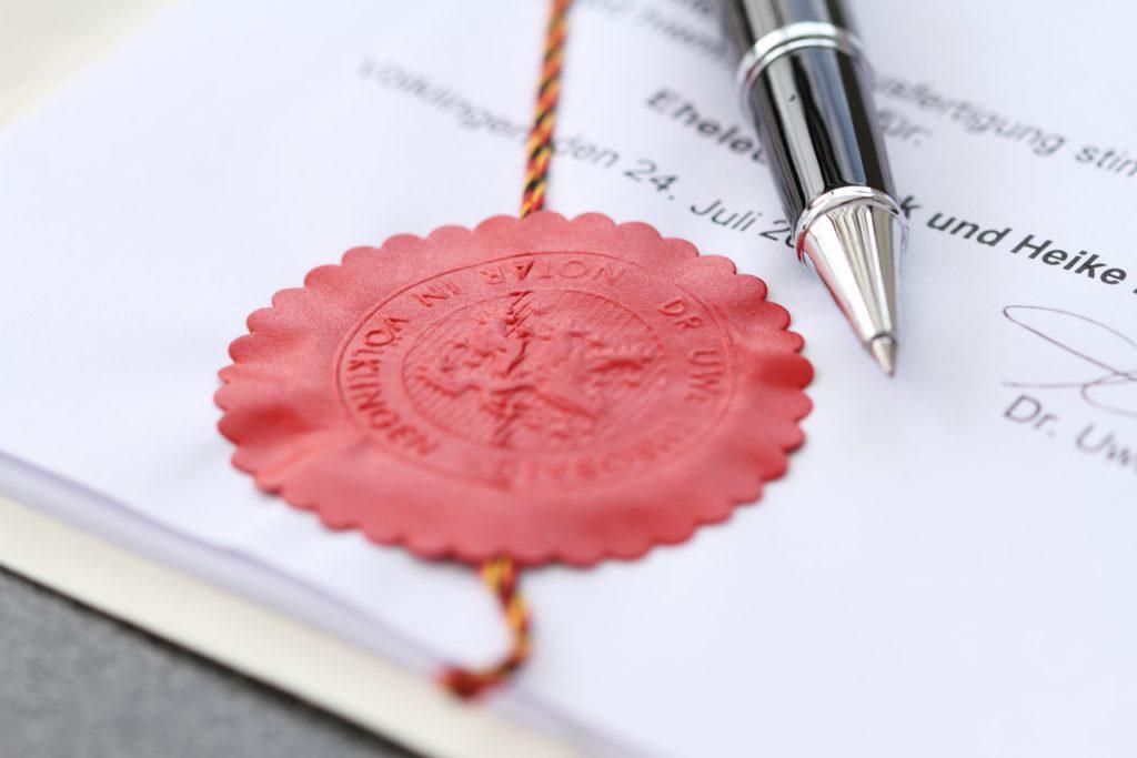 Sonstige notarielle Tätigkeiten